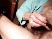 Mature Wife Performs Blowjob and First Time Anal Sex
